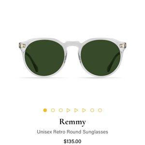 RAEN Remmy Sunglasses Fog Crystal Never Worn NWT